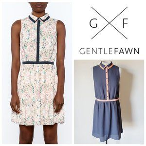 UO GENTLE FAWN Collared Button Down Dress